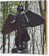 Angel Of Hope Wood Print