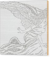 Angel Of Love Wood Print