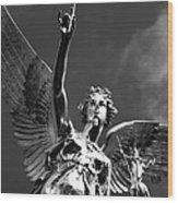 Angel Of Peace Wood Print by Marc Huebner