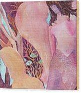 Angel Of The Sea Wood Print
