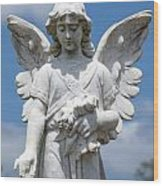 Angel Tombstone Series Wood Print