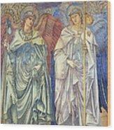 Angeli Ministrantes Wood Print