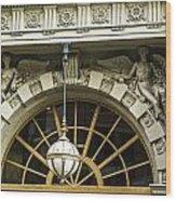 Angelic Door Topper Wood Print