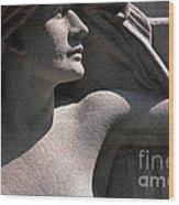 Angelic Woman Wood Print