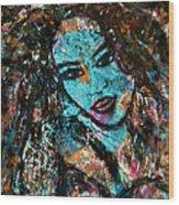 Angelica Wood Print