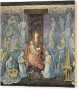 Angelical Concert. 15th-16th C. Flemish Wood Print by Everett