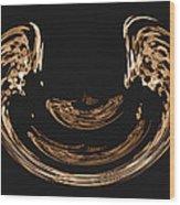 Angell Wings Digital Art Wood Print