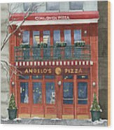 Angelo's On 57th Street Wood Print