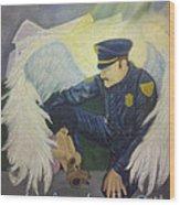 Angels Among Us Wood Print