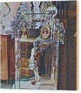 Angels and Horses Wood Print
