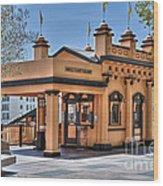 Angels Flight Landmark Funicular Railway Bunker Hill Wood Print