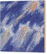 Angels Flight Trip Wood Print