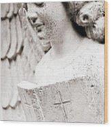 Angels Prayers And Miracles Wood Print
