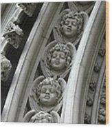 Angels Rising Wood Print