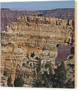 Angel's Window At Cape Royal Grand Canyon Wood Print