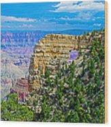 Angel's Window At Cape Royal On North Rim Of Grand Canyon-arizona Wood Print