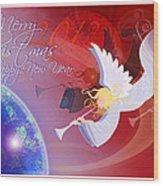 Angelus Wood Print