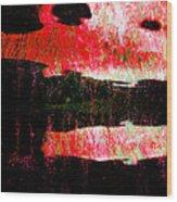 Anger Wood Print