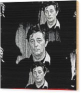 Angie Dickinson Robert Mitchum Collage Young Billy Young Set Old Tucson Arizona 1968-2013 Wood Print