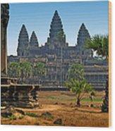Angkor Afternoon Wood Print