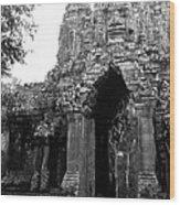 Angkor Thom East Gate 01 Wood Print