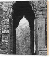 Angkor Thom East Gate 03 Wood Print