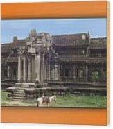Angkor Wat Cambodia 1 Wood Print
