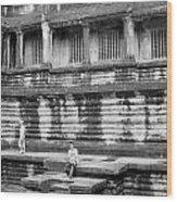 Angkor Wat Cambodia 3 Wood Print
