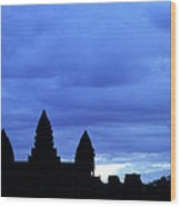 Angkor Wat Sunrise 01 Wood Print
