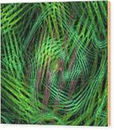 Angle Worms Wood Print