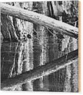 Angles And Reflections Wood Print