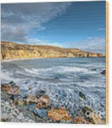 Anglesey Seascape Wood Print