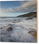 Anglesey Tides Wood Print