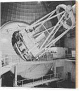 Anglo-australian Telescope Wood Print