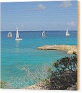 Anguilla Regatta Wood Print