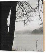 Angular Fog Wood Print