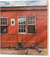Animal - Bird - Bird Watching Wood Print