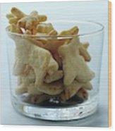 Animal Crackers Wood Print