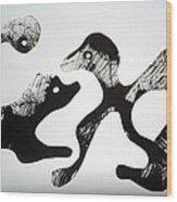 Animal Design 121027-1 Wood Print