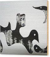 Animal Design 121027-4 Wood Print