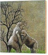 Animal - Gorillas - Isn't Love Grand Wood Print