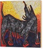 Animalia Canis No. 8  Wood Print