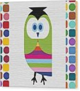 Animals Whimsical 5 Wood Print