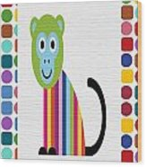Animals Whimsical 6 Wood Print