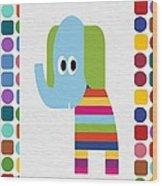 Animals Whimsical 8 Wood Print