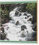 Animas River Southern Colorado Wood Print