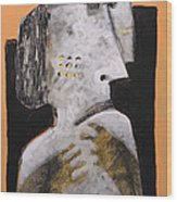 Animus No 18 Wood Print by Mark M  Mellon