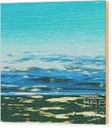 Anini Beach Kauai Wood Print