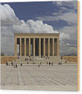 Anitkabir Ankara Turkey Wood Print