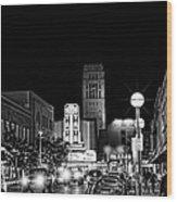Ann Arbor Nights Wood Print